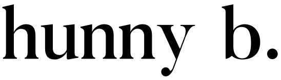 hunny b transparent black